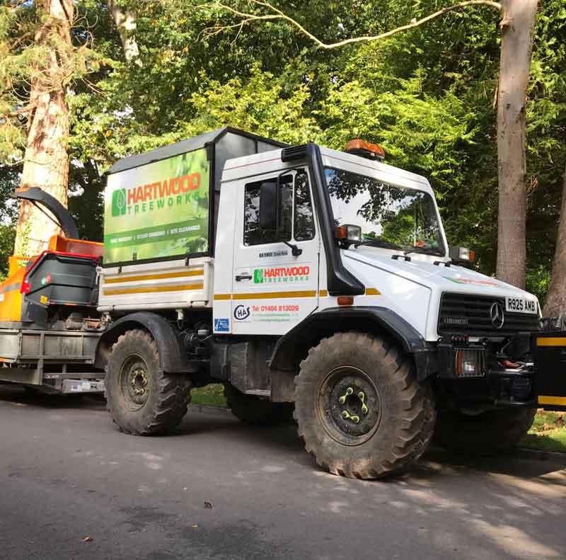 Hartwood Treeworks Vehicles